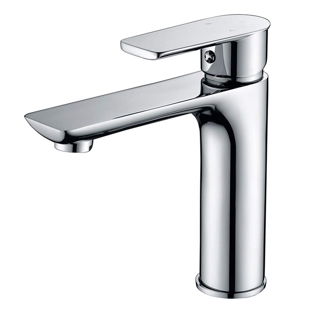 Yxx max Copper Basin Faucet Hot And Cold Wash Basin Faucet Heightening And Lengthening