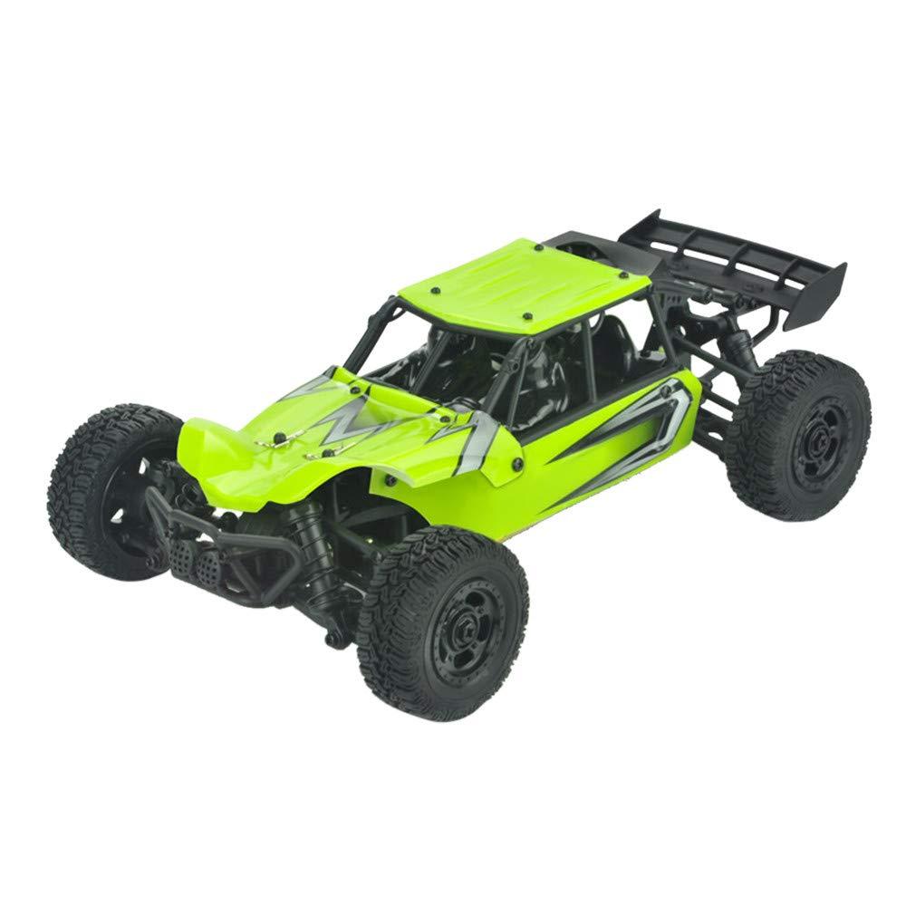 Sttech1 RC Racing Car, Remote Control Car, 1/18 2.4Ghz High Speed Remote Control RC Rock Crawler Racing Car Off Road Truck Buggies Car (Green)