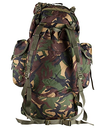 Backpack Camo Zap New Cadet Camping Combat Military DPM Rucksack Zip Bag Zooom Army Hiking 60L Travel ZpqwdwvB
