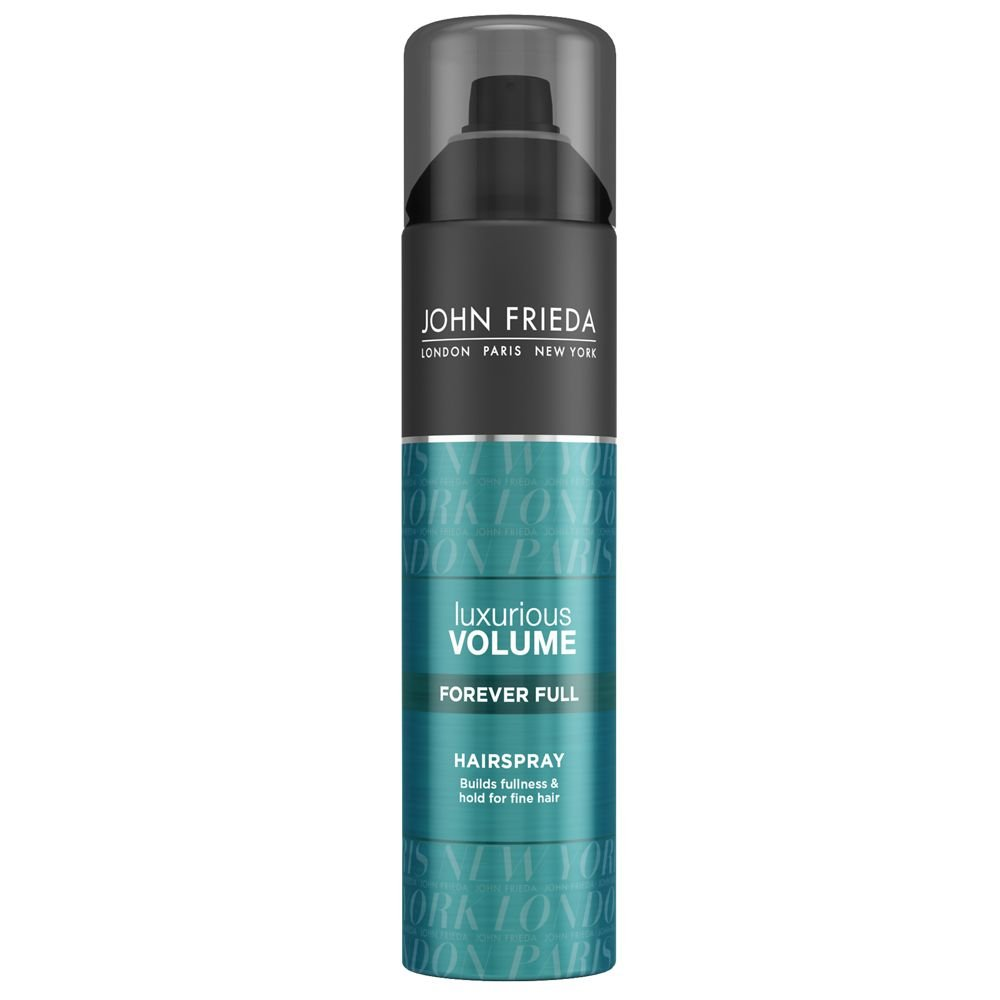 John Frieda Luxurious Volume Forever Full Hairspray for Fine Hair, 10 Ounces