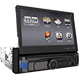 POWER ACOUSTIK PDR-780B 7'''' Single-DIN In-Dash Multimedia Receiver with Detachable Face (With Bluetooth(R)) electronic consumer