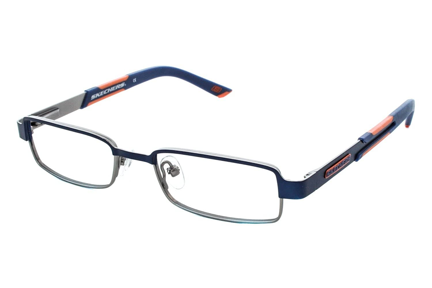 Amazon.com: SKECHERS Eyeglasses SK 1028 B79 Blue Gunmetal 45MM: Clothing