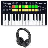 #9: Novation LAUNCHKEY MINI MK2 25 Key USB Keyboard Controller+Headphones