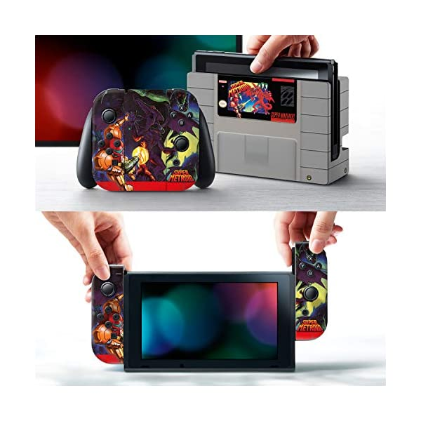 Controller Gear Officially Licensed Nintendo Switch Skin & Screen Protector Set - Super Metroid - Nintendo Switch 2