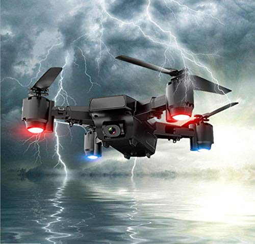 - ADHOSJO GPS Folding UAV, Aerial Shooting HD 5 Million megapixel 1080P HD Camera Professional Four-axis Aircraft, Intelligent Positioning Automatically Follow The Remote Control Aircraft