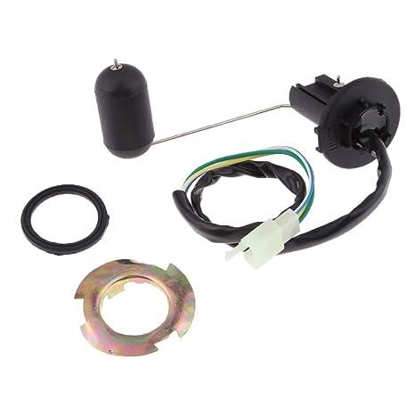 Homyl Calibrador Del Transmisor Del Sensor De Nivel Del Tanque De Combustible Diesel/Gasolina Para Yamaha RSZ 125: Amazon.es: Coche y moto