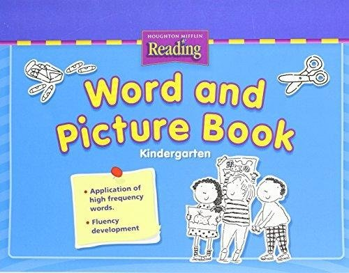 Houghton Mifflin Reading: The Nation's Choice: Word and Picture Blackline Masters Grade K