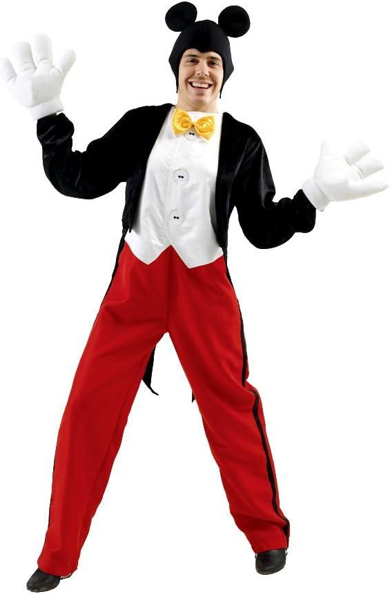 Disfraz de Mickey Mouse hombre U: Amazon.es: Juguetes y juegos
