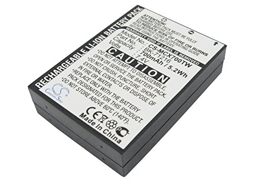 Replacement Battery for Cobra CXR 700 CXR 750 MICROTALK CXR700 25-Mile Radio and Others Part NO Cobra 028377310454 103-0001-1 103-0004-1 103004-1 BK-70128 COM-MN0160001 FRS-001-LI MN-0160001