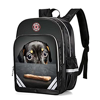 SUNLOVEBABY Cute Animal Print Childrens School Backpacks Kindergarten Kids Boys Travel Bags 85%OFF