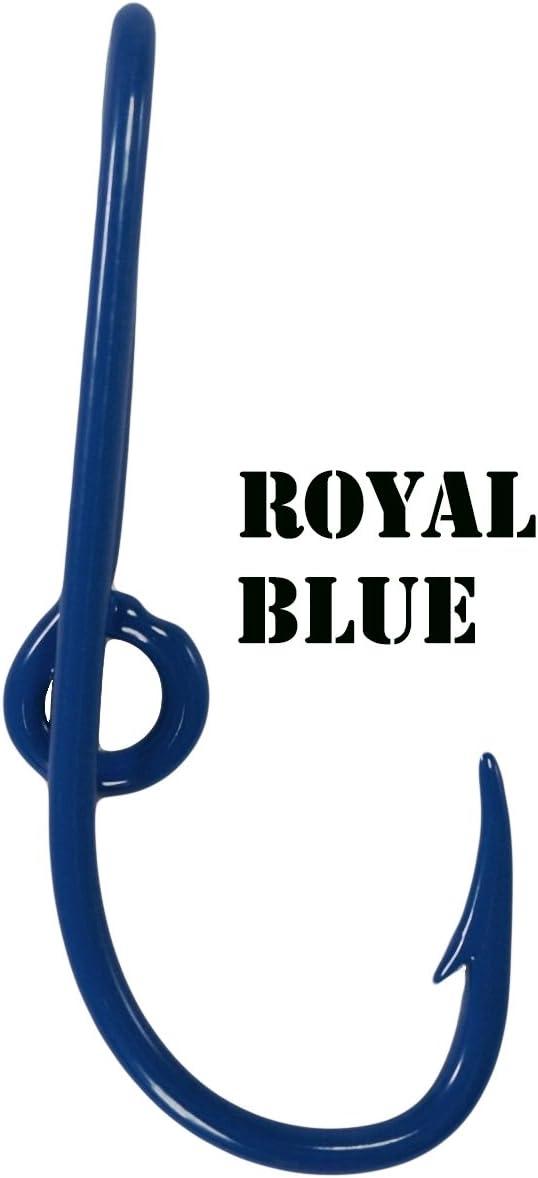 Eagle Claw Blue Hat Hooks Fish Hook Hat Pin Hook Tie Clip fish Hook Hat tie Clasps Plus a FREE Mossy Oak Decal