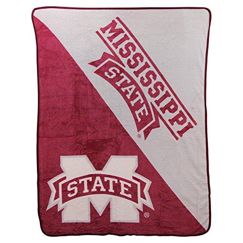 State Fleece Blanket - The Northwest Company NCAA Halftone Micro Raschel Throw, 46