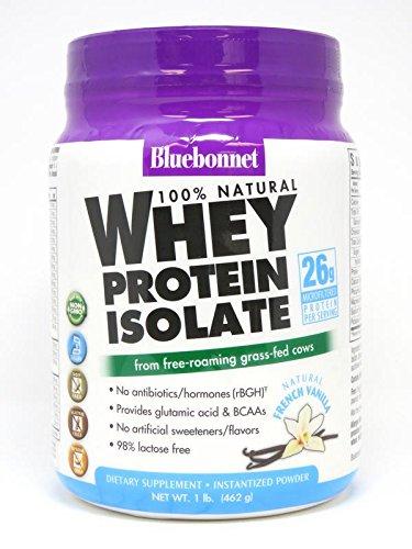 Bluebonnet Nutrition Whey Protein Isolate Powder, Vanilla Fl