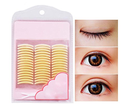240pcs Invisible Beauty Double Sided Eyelid Tape Stickers Instant Eyelid Lift Without Surgery Medical Grade Latex Free Hypoallergenic Perfect for Hooded Droopy Uneven Mono-eyelids (Eyelid Surgery Lift)