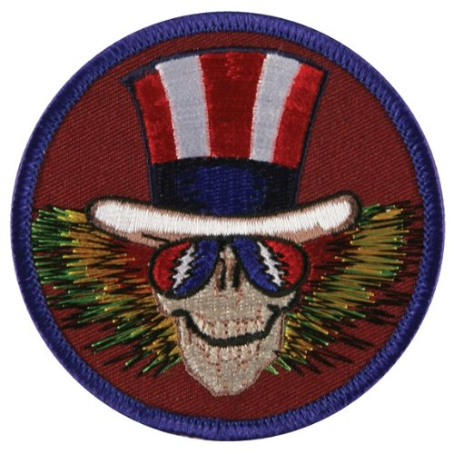 Grateful Dead - Mens Grateful Dead - Uncle Sam Patch Red