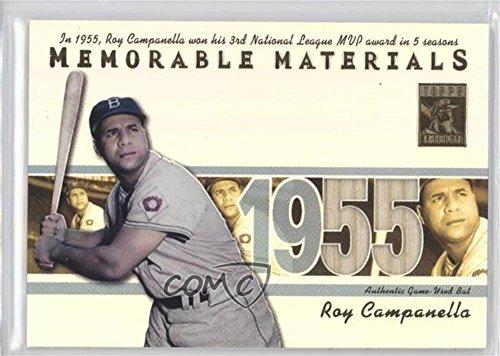 Roy Campanella (Baseball Card) 2002 Topps Tribute - Memorable Materials #MEM-RC from Topps