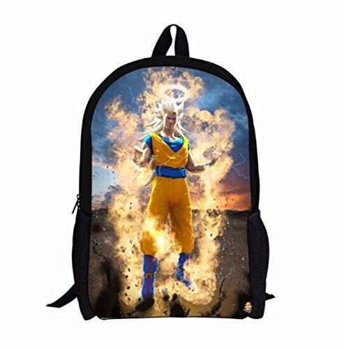 rare Schultertasche Tasche Shoulder Bag Rucksack reisetaschen Feuer Um Dragon Ball new