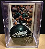 Philadelphia Eagles NFL Helmet Shadowbox w/ Nick Foles card