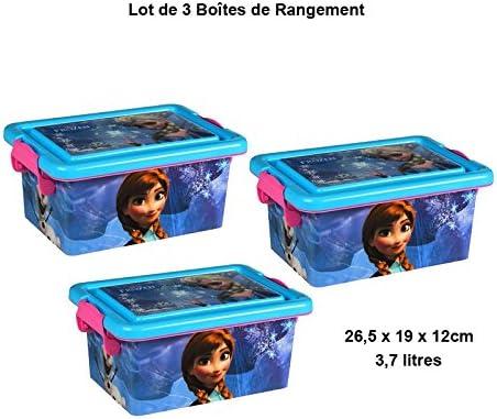 3 Pequeñas cajas de plástico 3,7l
