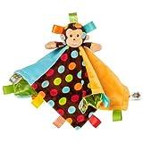 Taggies Dazzle Dots Character Blanket, Monkey, Baby & Kids Zone