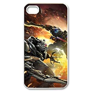C-EUR Customized Print Transformers Pattern Back Case for iPhone 4/4S