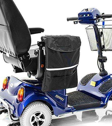 Challenger Mobility Deluxe Large Armrest Saddle Bag For
