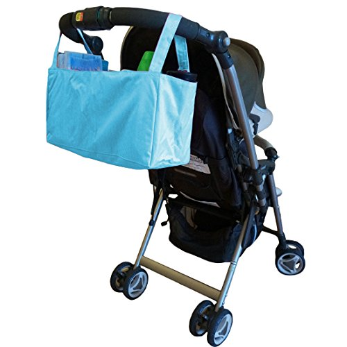 KF Baby–Organizador de pañales cochecito + Cambiador Value Combo verde Green Combo Talla:13 inch Blue Combo