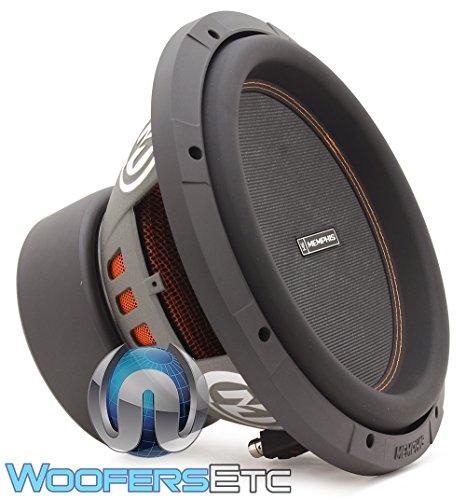 Memphis Audio 15-M612D2 12″ Dual 2-ohm Component Subwoofer