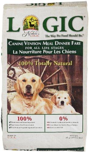 Natures Logic Natural Venison Dry Dog Food 26.4lb, My Pet Supplies