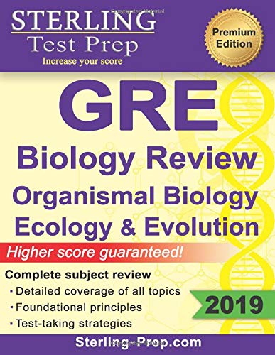 Pdf Test Preparation Sterling Test Prep GRE Biology: Review of Organismal Biology, Ecology and Evolution