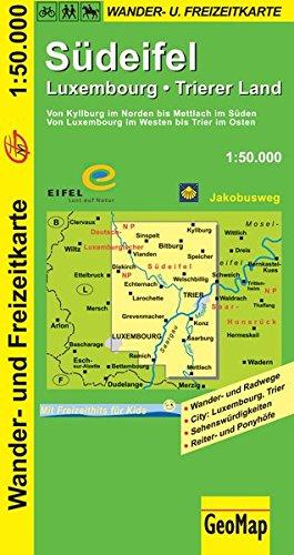 Südeifel 1 : 50 000. Wander- und Freizeitkarte (Geo Map) Landkarte – Folded Map, 6. Juli 2016 GeoMap GeoCenter 3936184305 Karten