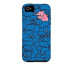 Word to the herd iPhone 5/5s French blue Tough Phone Case - Design By Humans