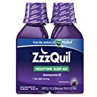ZzzQuil Nighttime Sleep Aid, Warming Berry Liquid, 2x12 Fl Oz