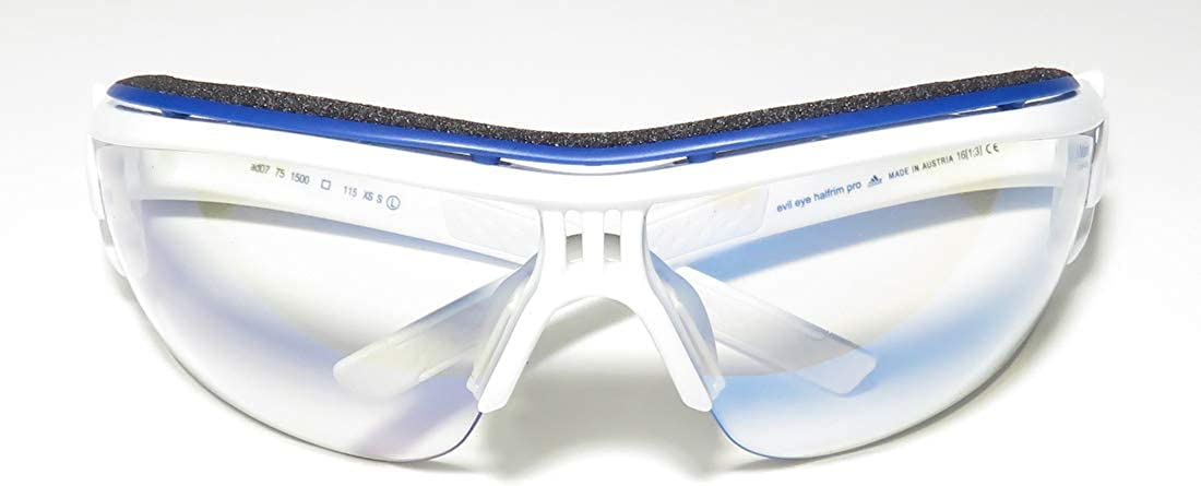 Adidas Ad07//75 Evil Eye L Mens//Womens Sport Half-rim Anti-reflective Lenses Sunglasses//Shades