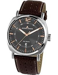 Jacques Lemans Lugano 1-1943D Mens Wristwatch Classic & Simple