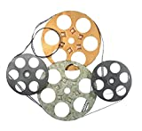 Film Reel Metal Wall Decor Art Sculpture 25 inches Wide x 22 inches High