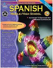 Carson Dellosa   Skills for Success: Spanish Workbook   6th–12th Grade, 129pgs