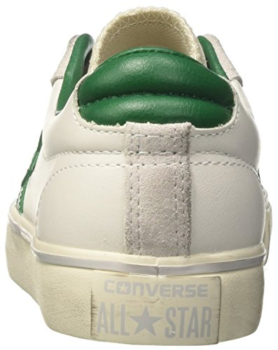 Converse Unisex-Erwachsene Pro Leather Vulc Ox Sneakers Weiß (White/pool Table/turtledove)