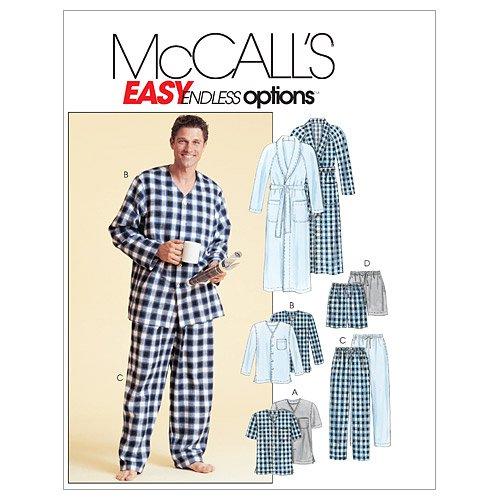 Mccall Pattern McCall's Patterns M4244 Men's Robe, Belt, ...