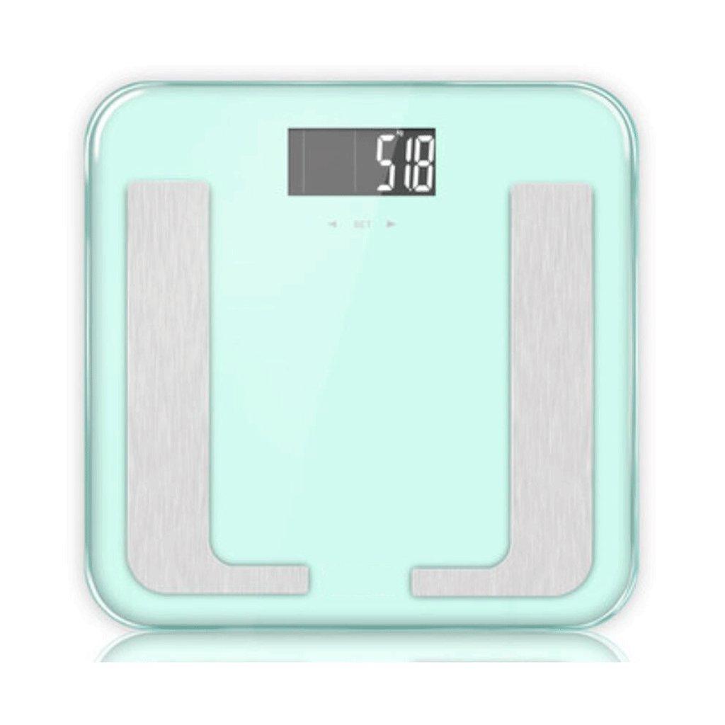 odefc Electronic dice Escalas de grasa Escalas De grasa de precisión dijo Escalas de cuerpo Pesando balanzas de salud electrónica Escalas inteligentes: ...