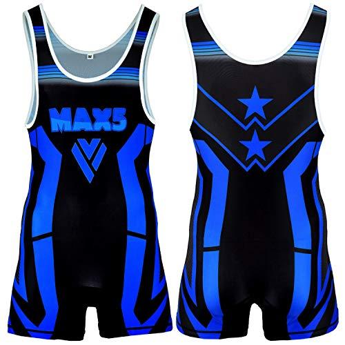 Max5 Pro Advance Wrestling Singlet Athletic Uniform