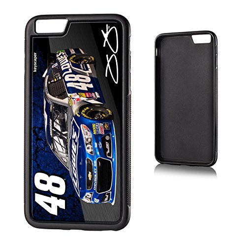 Jimmie Johnson iPhone 6 Plus & iPhone 6s Bumper Case officially licensed by NASCAR for the Apple iPhone 6 Plus by keyscaper® Flexible Full Coverage Low Profile