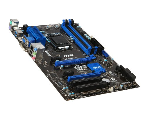 Msi Dual Channel (MSI Computer Corp. Motherboard ATX DDR3 1333 LGA 1150 Motherboards Z87-G41 PC MATE)