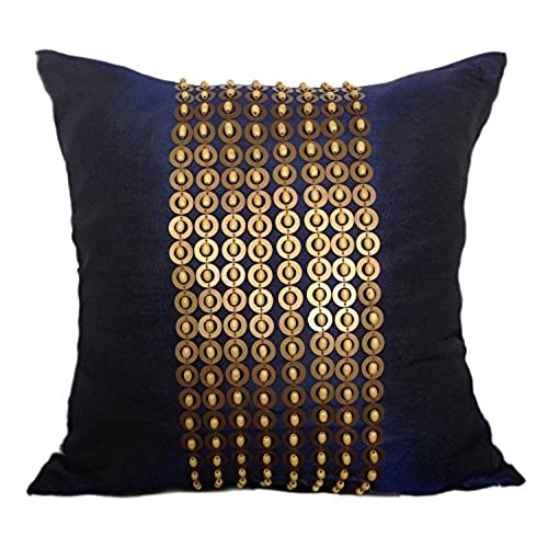 Decorative Pillows Brown And Blues Amazon Impressive Blue And Brown Decorative Pillows
