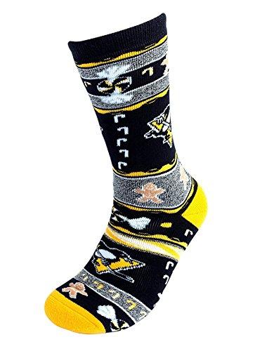 [For Bare Feet Pittsburgh Penguins Ugly Christmas Xmas Holiday Sports Socks] (Florida Themed Costumes)