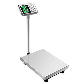 300KG//661lbs LCD Display Personal Floor Postal Platform Scale