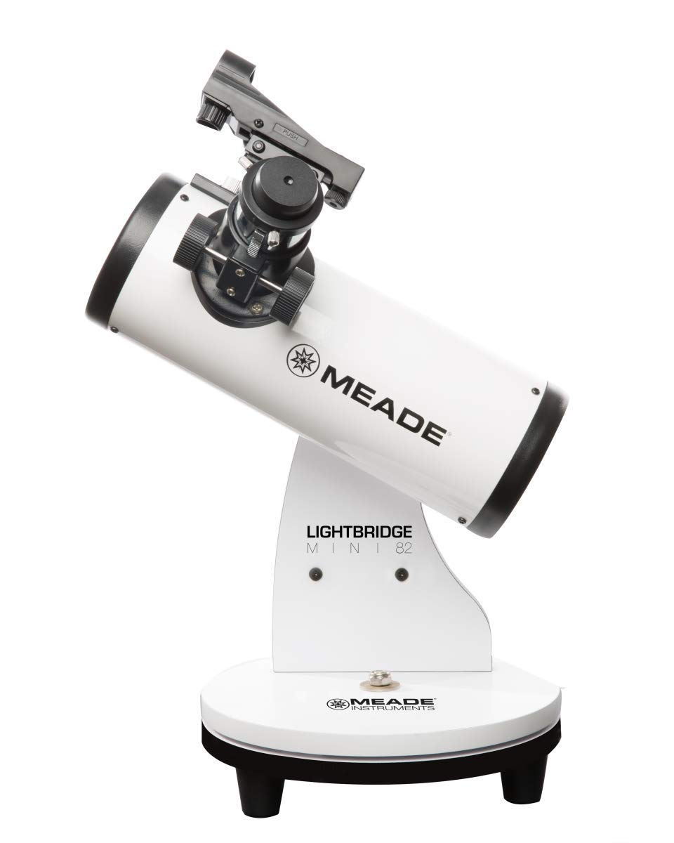 Meade Instruments LightBridge Mini 82 Telescope, White (203001) by Meade Instruments