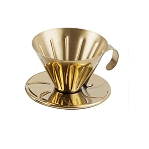 COKFEB Filtro de café Goteador Taza de Acero Inoxidable ...
