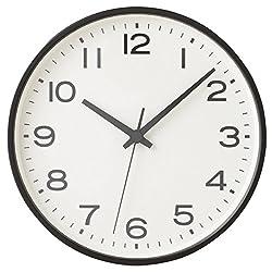 [Muji] Wall Clock Black Large 15915170 from Japan