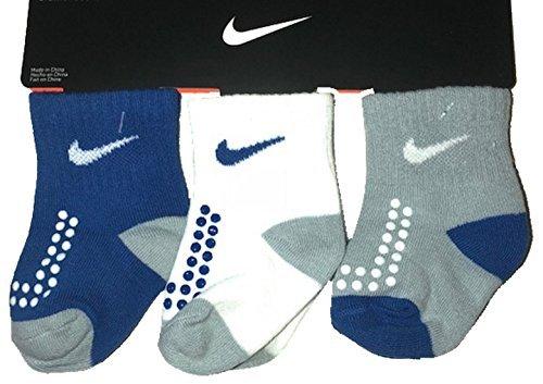 Nike Baby Boy's, 6 Pair Pack Socks (12-24 Months) (Nike Infant Socks)